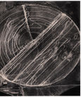 Emmet Gowin: Harvest traffic over agricultural pivot