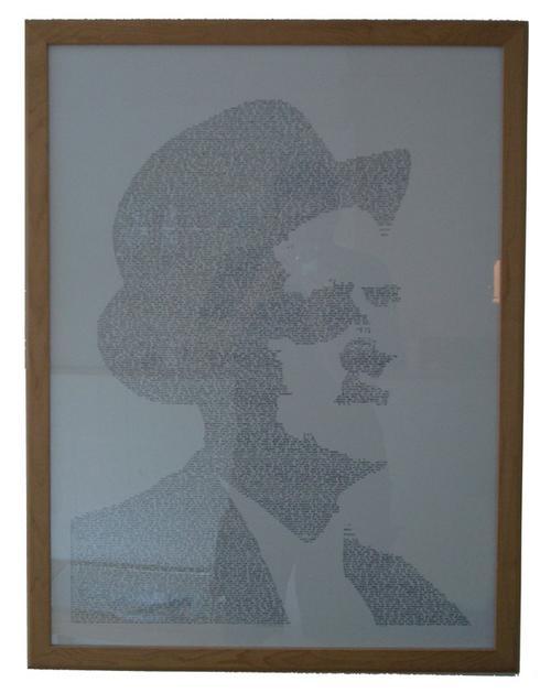 James Joyce textportrait